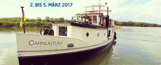 Die Carnuntum auf der Donau